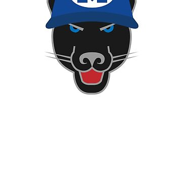 Midlothian Panther Blue Hat by TheWorkshoppe