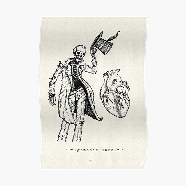 """Frightened Rabbit"" Poster"