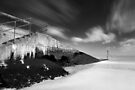 Slippery Slope BW by Andy Freer