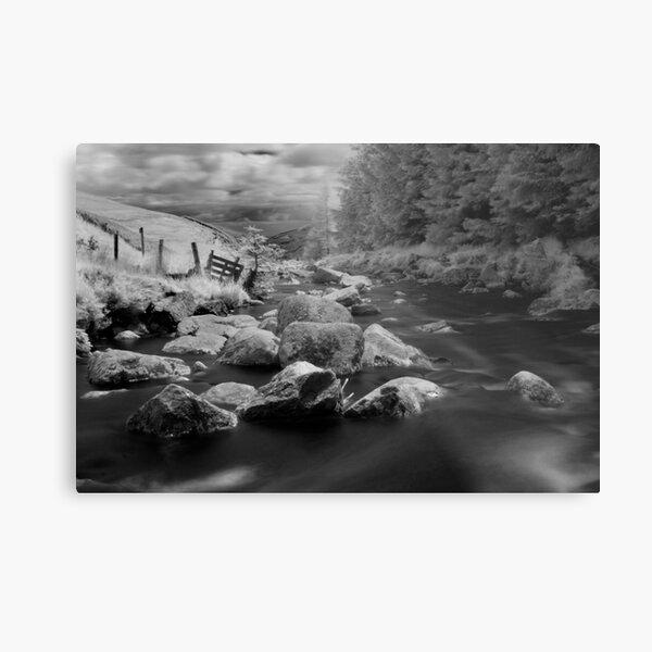 Glenmacnass Waterfall in County Wicklow, Ireland Metal Print