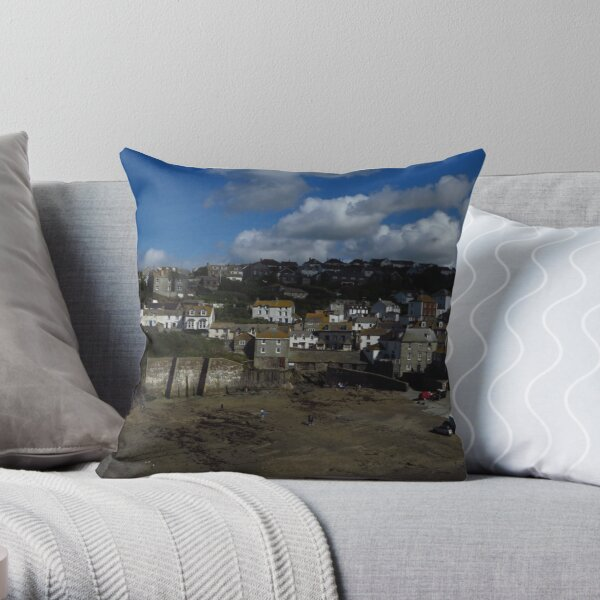 View From Doc Martin's Surgery Throw Pillow