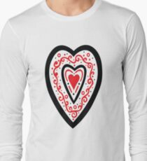 Ben's Heart Long Sleeve T-Shirt
