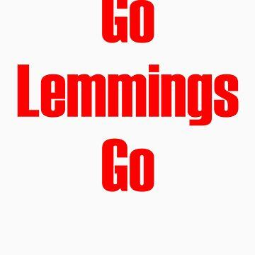 Go Lemmings Go by Nwyvre