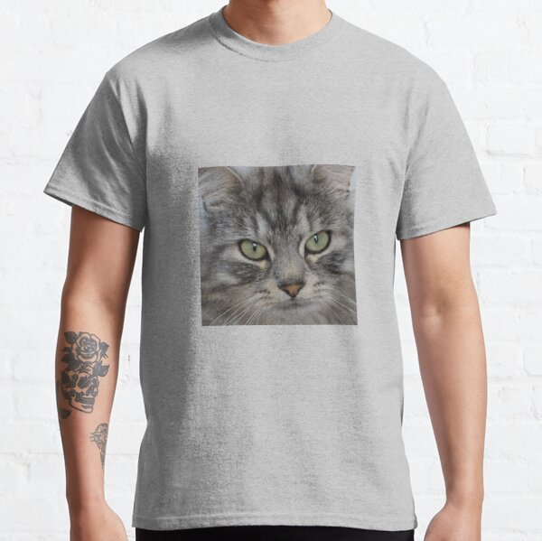 Shadow the Silver Tabby Persian Cat Classic T-Shirt