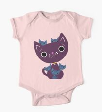 Mum and Kittens One Piece - Short Sleeve