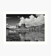 Eilean Donan in Infrared  Art Print