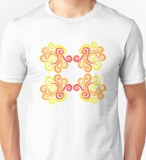 Swirly Fire Unisex T-Shirt