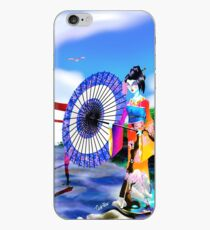 Geisha Walk iPhone Case