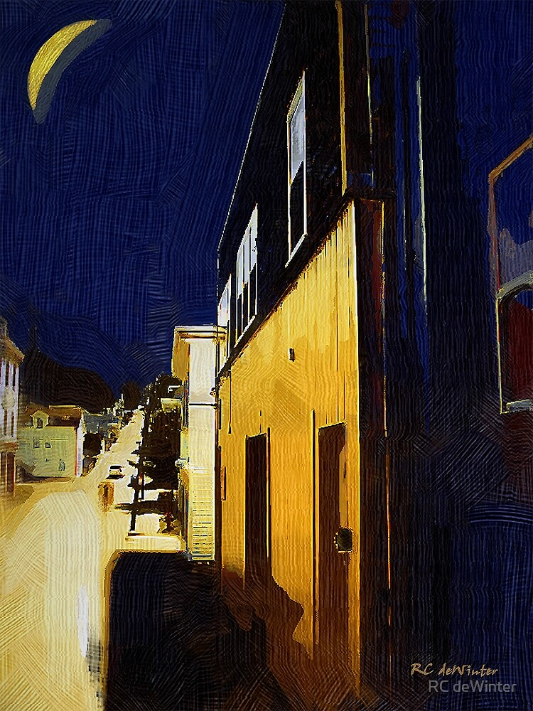 Small Town Saturday Night by RC deWinter