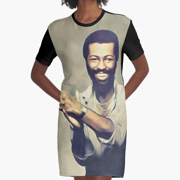 Teddy Pendergrass, Music Legend Graphic T-Shirt Dress
