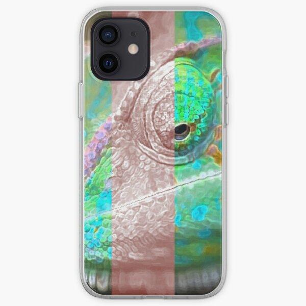 Green iguana iPhone Soft Case