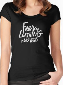 Fear and Loathing in Las Vegas - White Women's Fitted Scoop T-Shirt