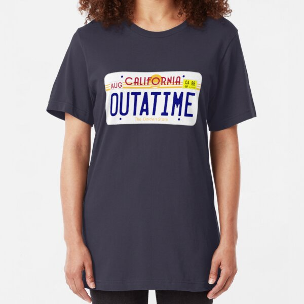 OUTATIME Slim Fit T-Shirt