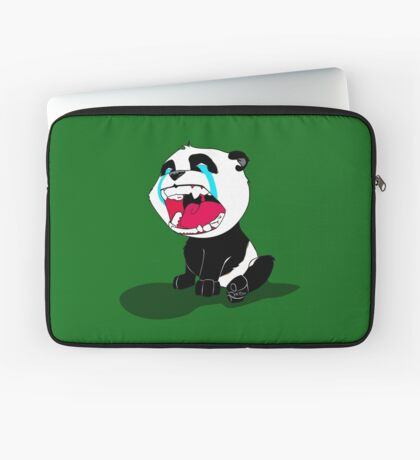 Crying Panda Cub Laptop Sleeve