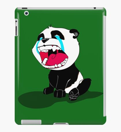 Crying Panda Cub iPad Case/Skin