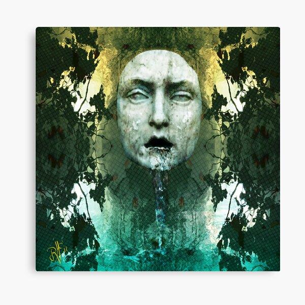 Fountain Head...Deep Canvas Print