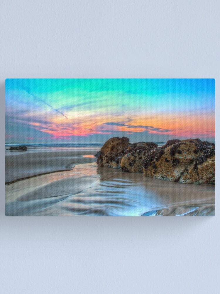 Alternate view of Silk Canvas Print