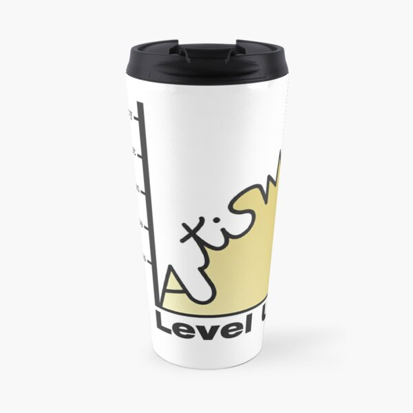 Gold. No tag line Travel Mug