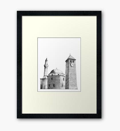 Livno, Hercegovina Framed Print