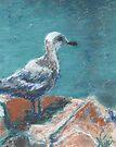 Seabird (pastel) by Niki Hilsabeck