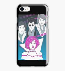 Pretty In Pink (Blue Variant) iPhone Case/Skin