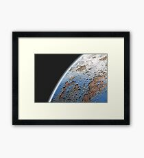Who Save The Earth? Framed Print