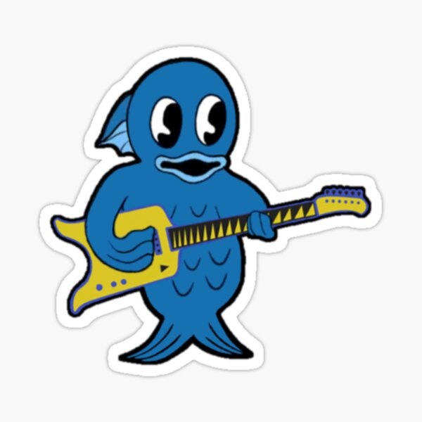 King Gizzard - Microtonal Fishie - All Proceeds to Charity Sticker