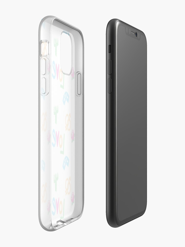 Alternate view of Love color iPhone Case & Cover