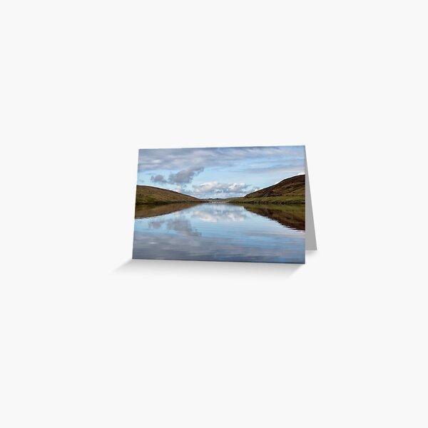 Voe Shetland Isles Greeting Card