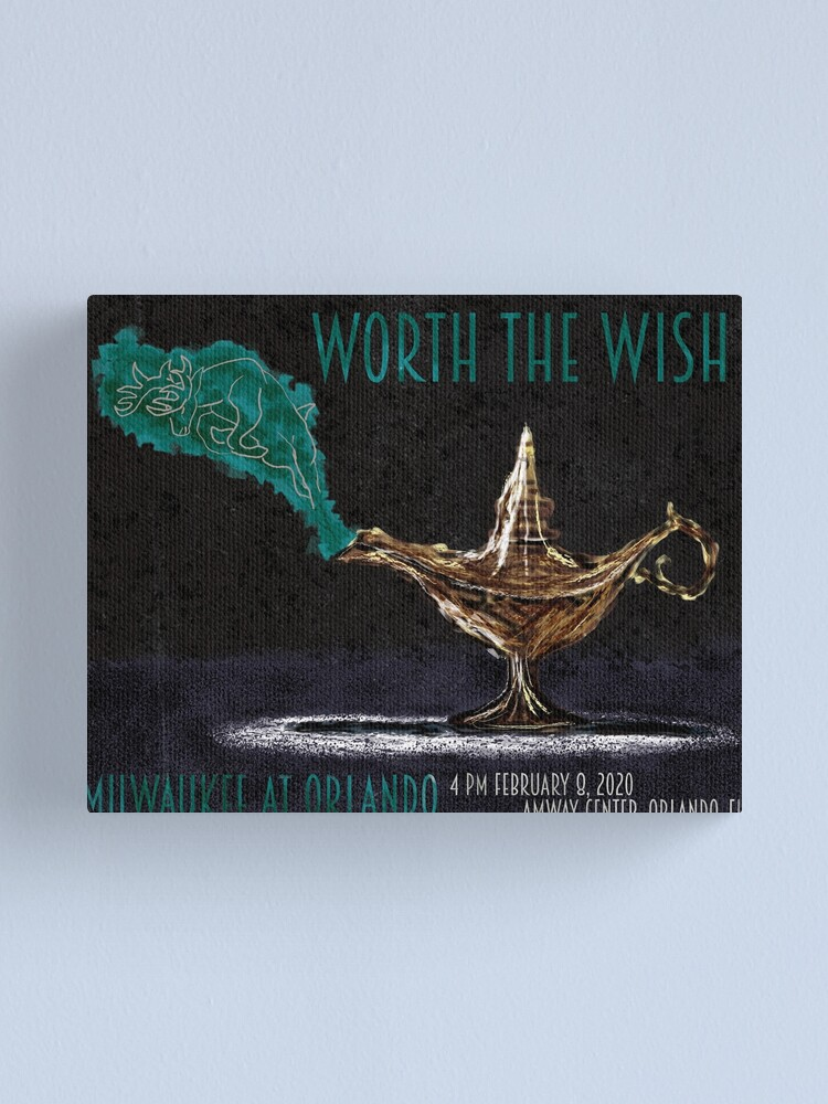 Alternate view of Worth the Wish Canvas Print