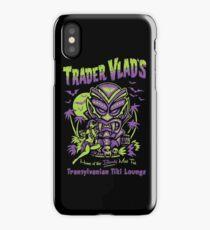 Trader Vlad's Transylvanian Tiki Hut iPhone Case/Skin