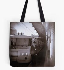 My train driver friend AT Ueno station Tote Bag