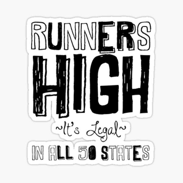 runners high Sticker