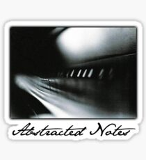 Abstracted Notes Sticker