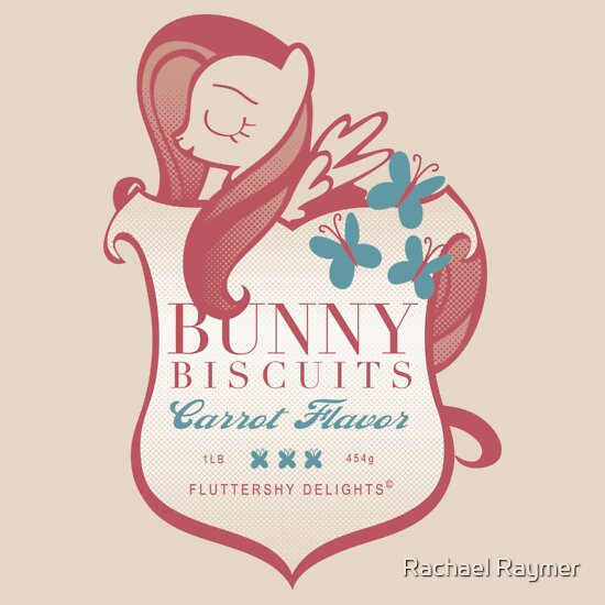 TShirtGifter presents: Fluttershy's Bunny Biscuits
