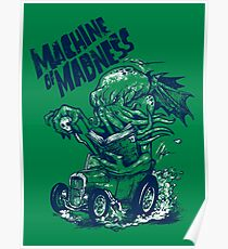 Machine of Madness Poster