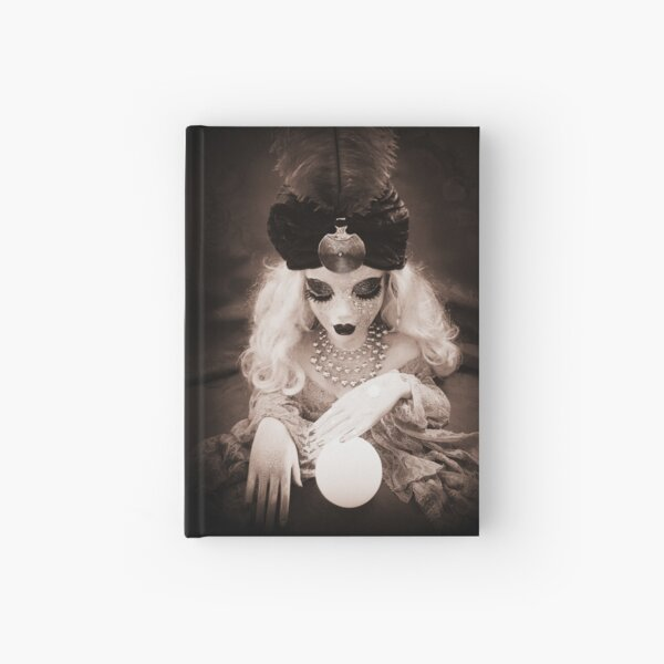 Fortune Teller Doll ~ Lady Scream Hardcover Journal