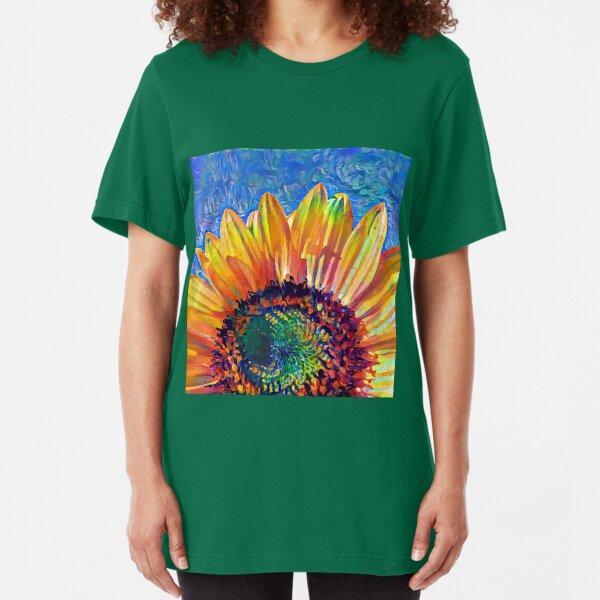 Solar eyelashes Slim Fit T-Shirt