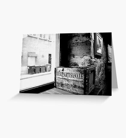 Montréal - Bière artisanale. Greeting Card