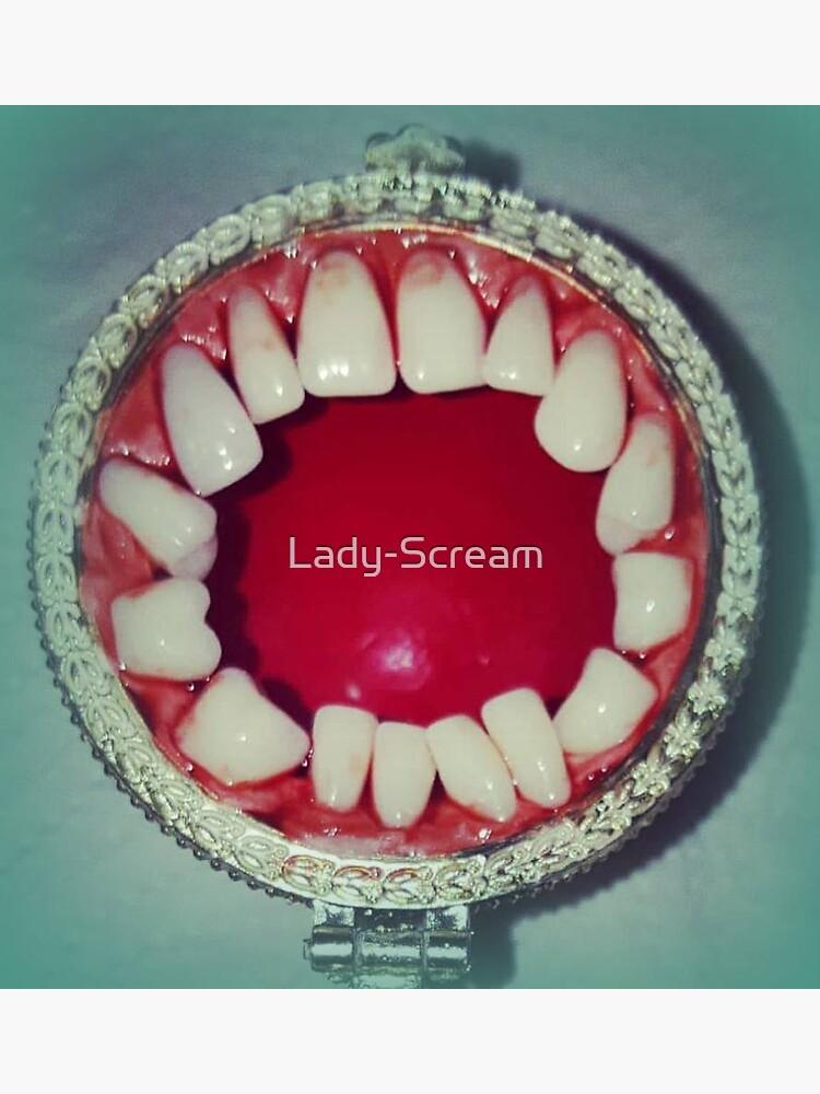 Lady Scream Mouth  by Lady-Scream