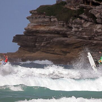 Kelly Slater & Jordy Smith Synchronised Airs  by Duckstar