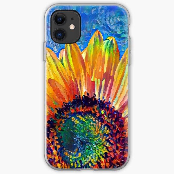 Solar eyelashes iPhone Soft Case