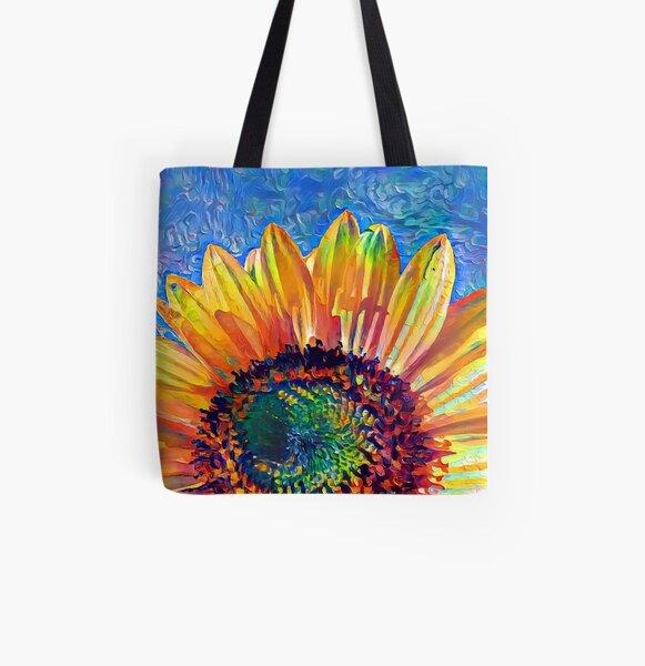 Solar eyelashes All Over Print Tote Bag