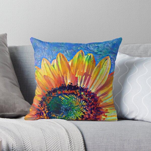 Solar eyelashes Throw Pillow