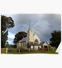 St James Anglican Church Greenethorpe Poster