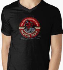 Dapper Devil Moustache Wax T-Shirt