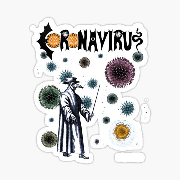 Coronavirus Sticker
