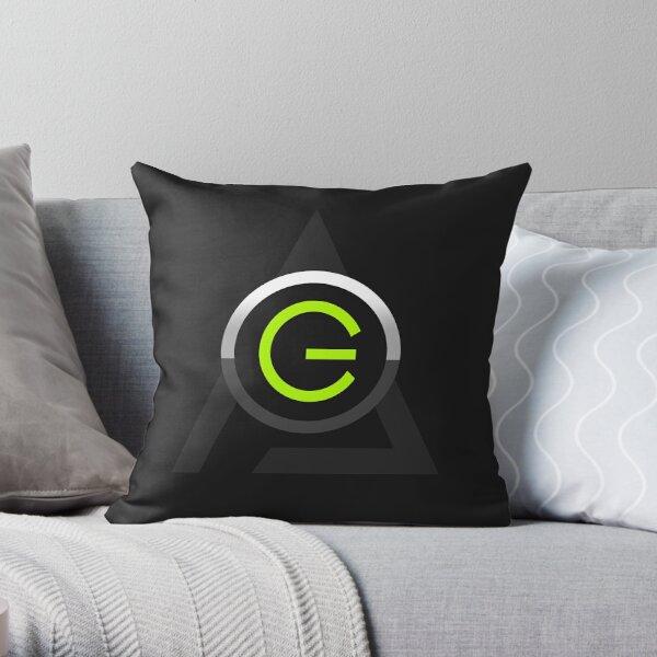 Game Reality Logo Throw Pillow