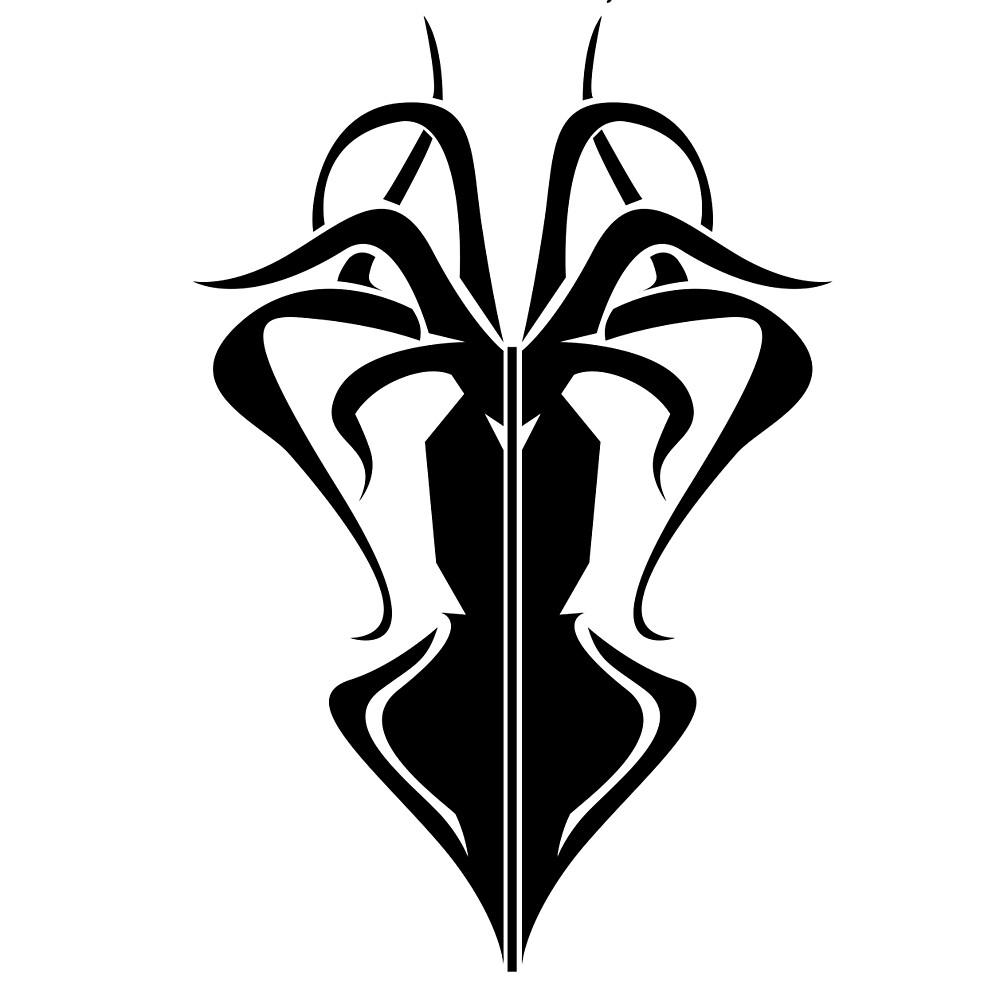 Greyjoy sigil black and white dresses