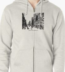 Collins Street Melbourne Zipped Hoodie
